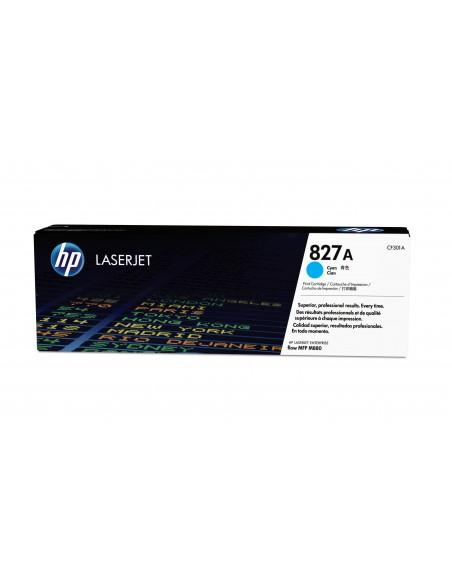 HP 827A toner LaserJet cyan authentique