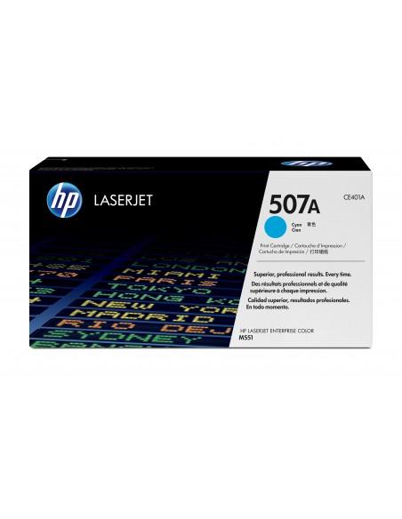 HP 507A toner LaserJet cyan authentique