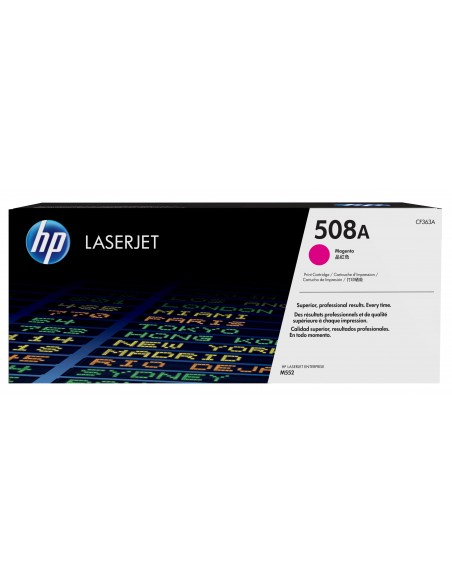 HP 508A toner LaserJet Magenta authentique