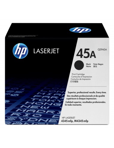 HP 45A toner LaserJet noir authentique