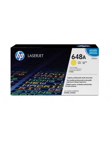 HP 648A toner LaserJet jaune authentique
