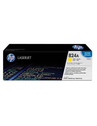 HP 824A toner LaserJet jaune authentique