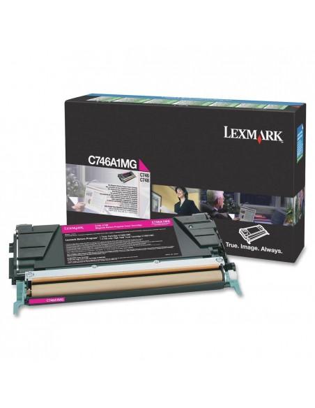 Lexmark C746A1MG Cartouche 7000pages Magenta cartouche toner et laser