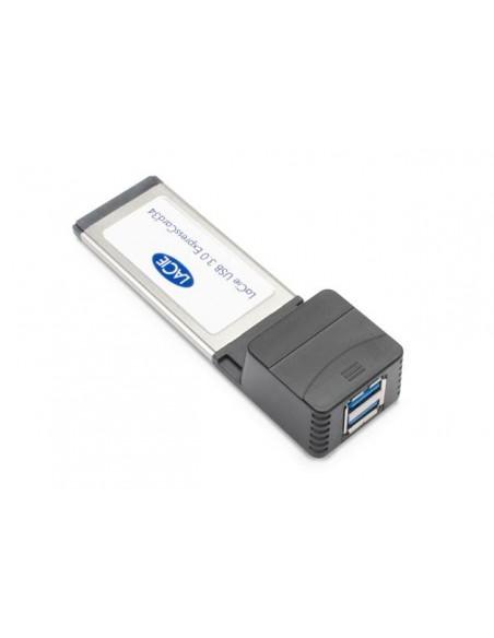 LaCie USB 3.0 ExpressCard/34 carte et adaptateur d'interfaces
