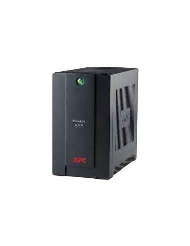 APC BX700U-FR Interactivité de ligne 700VA 3AC outlet(s) Noir alimentation d'énergie non interruptible