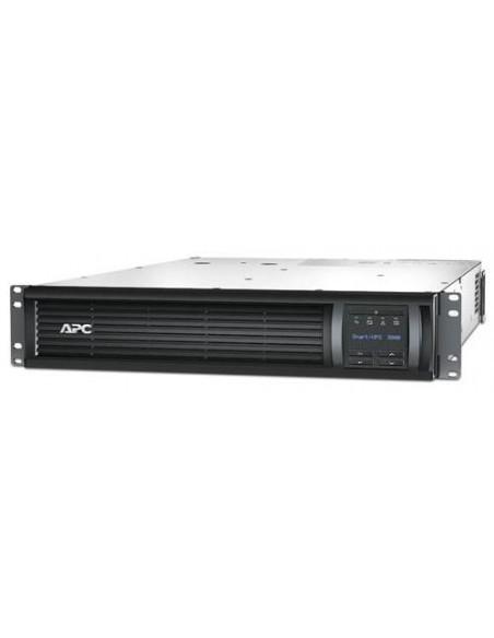 APC Smart-UPS Interactivité de ligne 3000VA 9sortie(s) CA A mettre sur rack Noir alimentation d'énergie non interruptible
