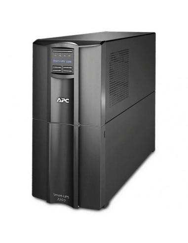 APC Smart-UPS Interactivité de ligne 2200VA 9sortie(s) CA Tour Noir alimentation d'énergie non interruptible