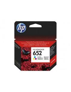 HP 652 200pages Noir, Jaune cartouche d'encre
