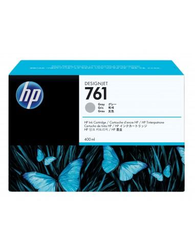 HP 761 cartouche d'encre DesignJet grise, 400 ml