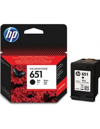 HP 651 600pages Noir cartouche d'encre