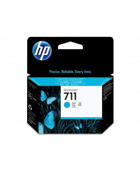 HP 711 cartouche d'encre DesignJet cyan, 29 ml