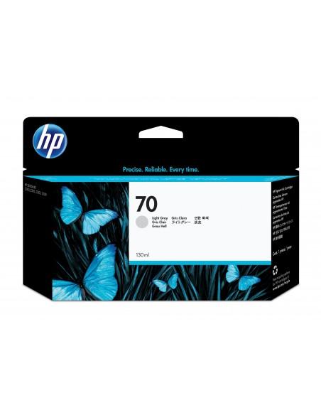 HP 70 cartouche d'encre DesignJet gris clair, 130 ml