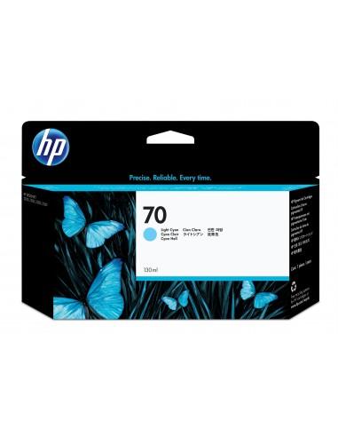 HP 70 cartouche d'encre DesignJet cyan clair, 130 ml
