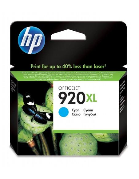 HP 920XL cartouche d'encre cyan grande capacité authentique