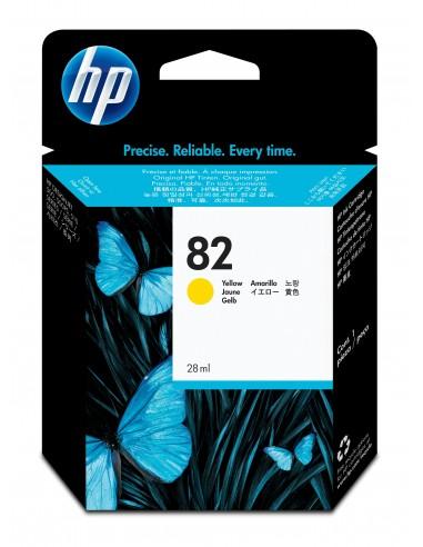 HP DesignJet 82 cartouche d'encre jaune, 28 ml