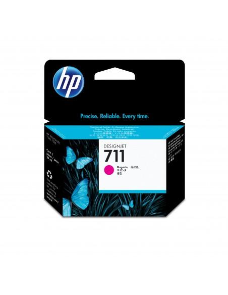 HP 711 cartouche d'encre DesignJet magenta, 29 ml