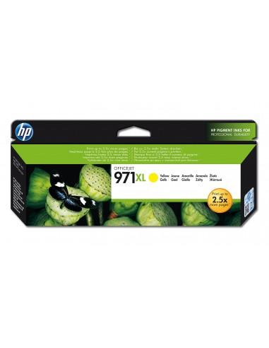 HP 971XL cartouche d'encre jaune grande capacité authentique
