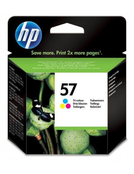HP 57 cartouche d'encre trois couleurs authentique