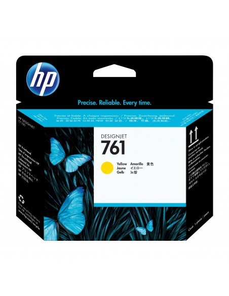 HP 761 tête d'impression DesignJet jaune