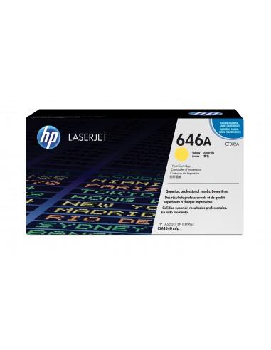 HP 646A toner LaserJet jaune authentique