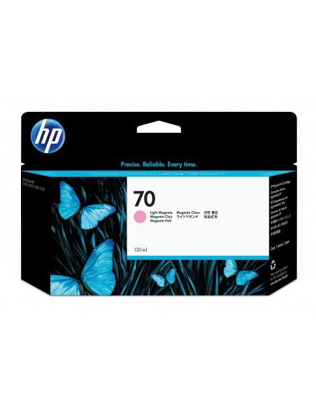 HP 70 cartouche d'encre DesignJet magenta clair, 130 ml