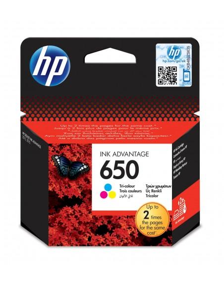 HP 650 Jaune cartouche d'encre