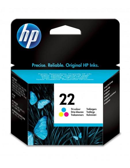 HP 22 cartouche d'encre trois couleurs authentique