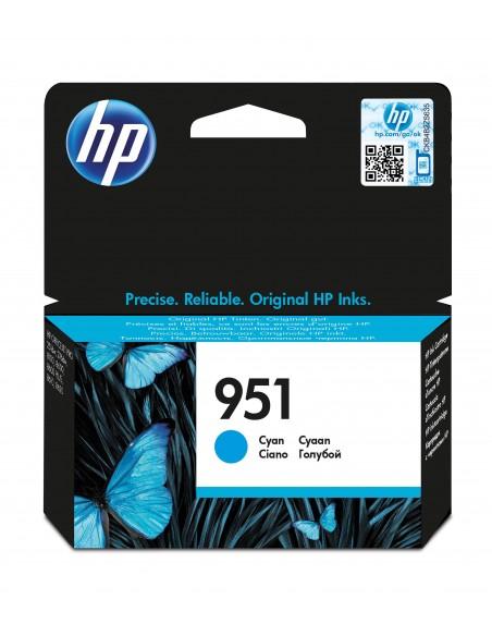 HP Cartouche authentique d'encre cyan 951