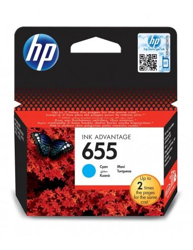 HP 655 Cyan cartouche d'encre