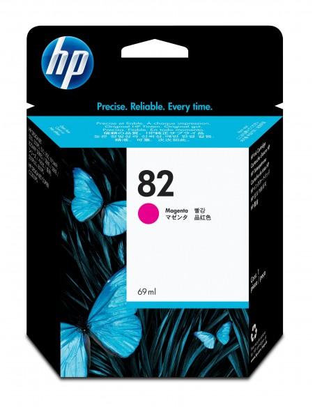 HP DesignJet 82 cartouche d'encre magenta, 69 ml