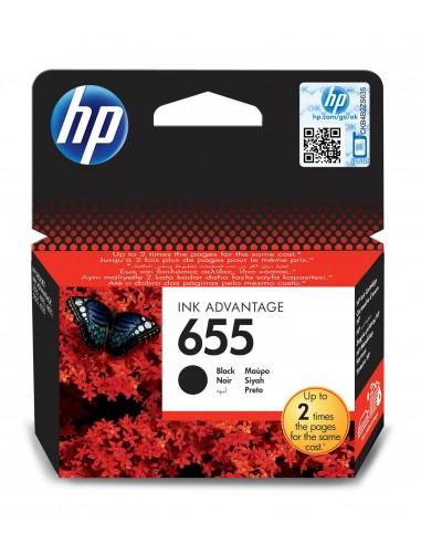 HP 655 Noir cartouche d'encre