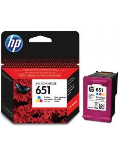 HP 651 300pages Jaune cartouche d'encre