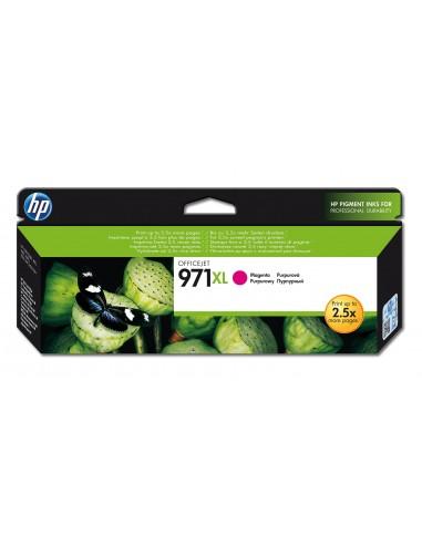 HP 971XL cartouche d'encre magenta grande capacité authentique