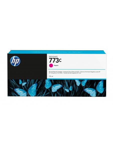 HP 773C cartouche d'encre DesignJet magenta, 775 ml