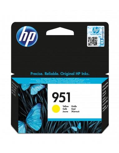 HP Cartouche authentique d'encre jaune 951
