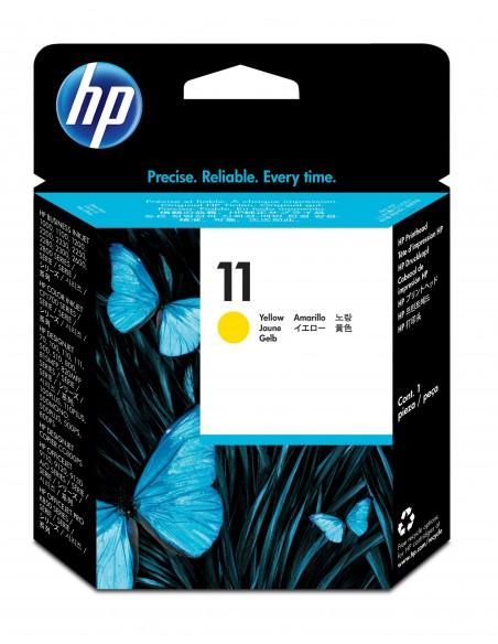HP 11 tête d'impression jaune