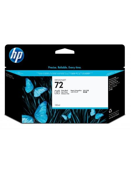 HP 72 cartouche d'encre DesignJet noir photo, 130 ml