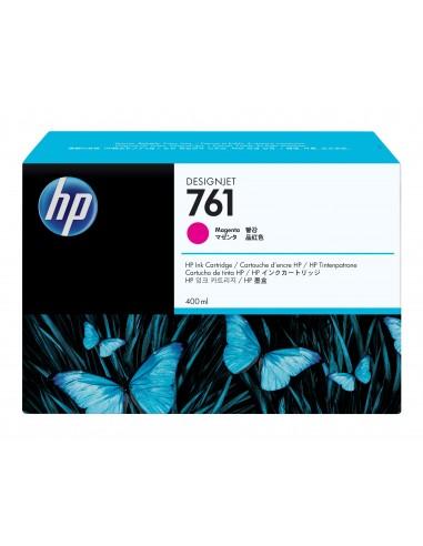HP 761 cartouche d'encre DesignJet magenta, 400 ml