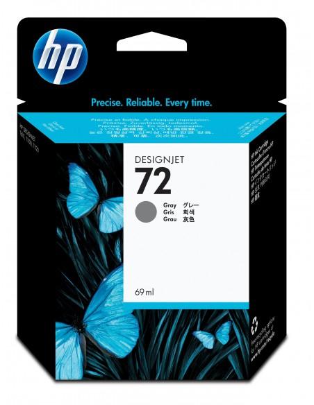 HP 72 cartouche d'encre DesignJet grise, 69 ml