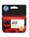 HP 655 Jaune cartouche d'encre