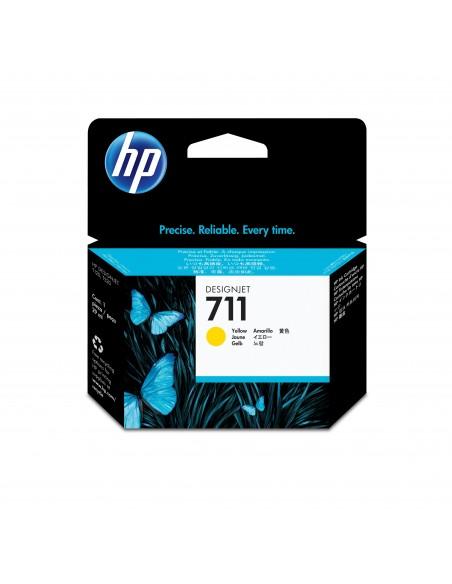 HP 711 cartouche d'encre DesignJet jaune, 29 ml