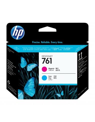 HP 761 tête d'impression DesignJet magenta cyan