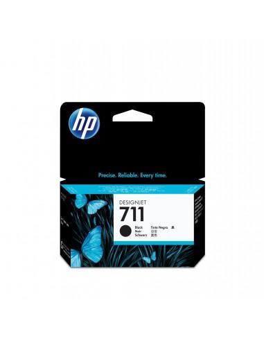 HP 711 cartouche d'encre DesignJet noir, 38 ml