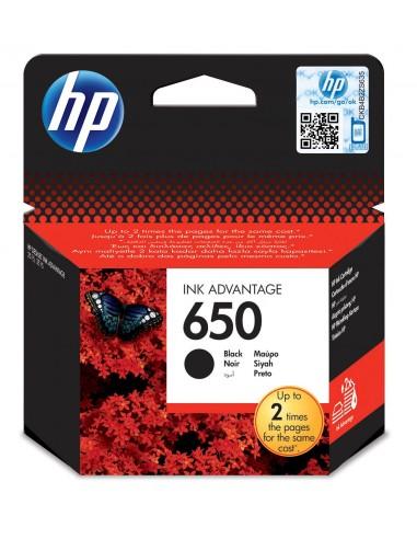 HP 650 Pigment noir cartouche d'encre