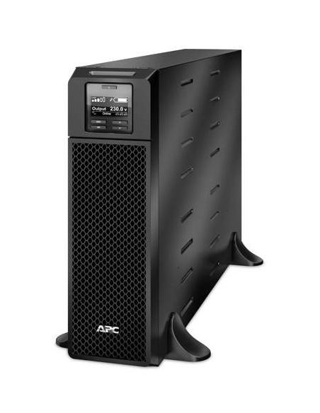 APC Smart-UPS On-Line Double-conversion (en ligne) 5000VA 12sortie(s) CA Noir alimentation d'énergie non interruptible