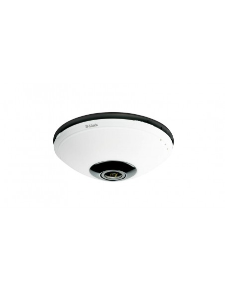 D-Link DCS-6010L IP security camera Intérieur Dome Noir, Blanc