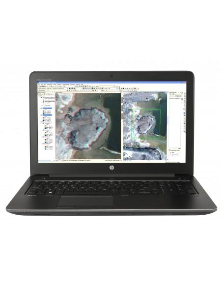 """HP ZBook 15 G3 2.6GHz i7-6700HQ 15.6"""" 1920 x 1080pixels Noir Station de travail mobile"""