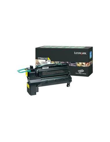 Lexmark C792A1YG Cartouche 6000pages Jaune cartouche toner et laser