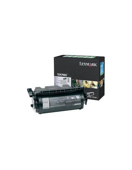 Lexmark 12A7460 Laser cartridge 5000pages Noir cartouche toner et laser