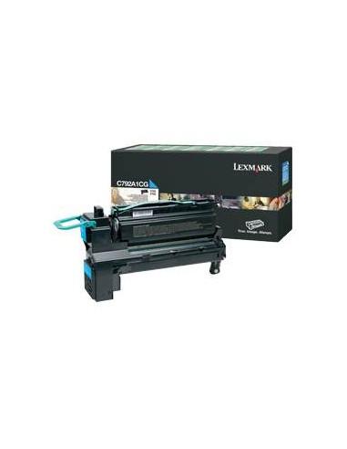 Lexmark C792A1CG Cartouche 6000pages Cyan cartouche toner et laser